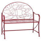 Red Lobster Bench Product Image