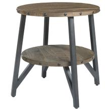 Haffenburg Round End Table