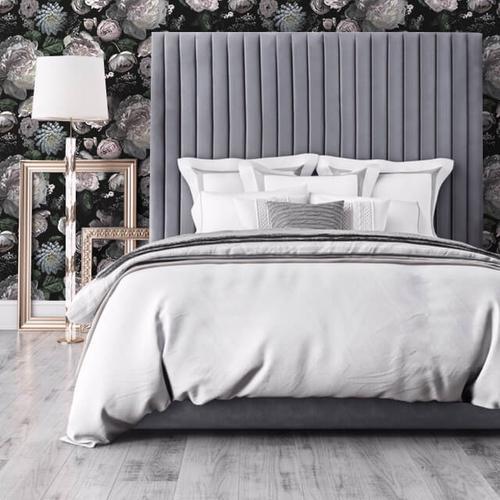 Arabelle Grey Bed in Queen