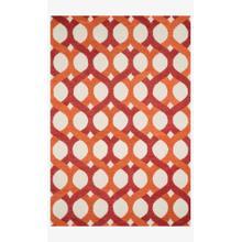 Hws04 Red / Orange Rug