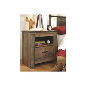 Trinell One Drawer Night Stand Brown