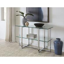 See Details - Amalfi Sideboard-Glass & Chrome