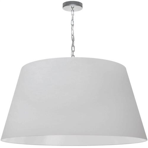1lt Brynn X-large Pendant, White Shade, PC