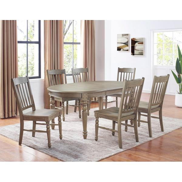 See Details - Emmett 5-Piece Dining (Table & 4 Side Chairs)