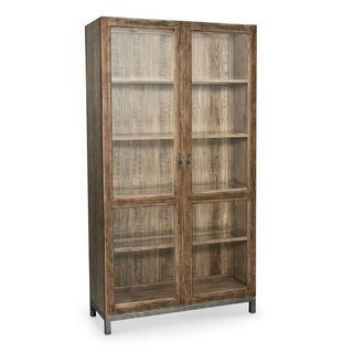 See Details - Woodridge Glass Door Wine Cabinet