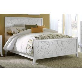 5/0 Queen Pearl Panel Bed