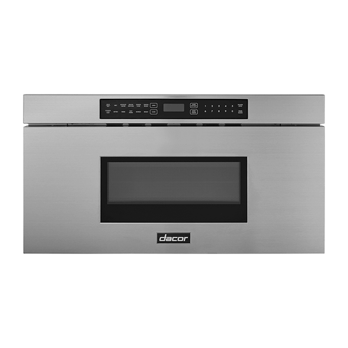 """30"""" Microwave-In-A-Drawer, Silver Stainless Steel"""