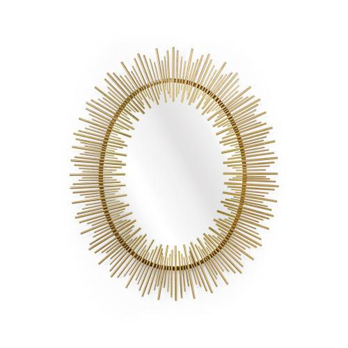Line King Mirror - Gold