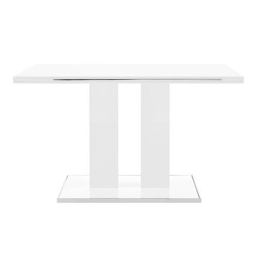 Amanda 5 Piece White Rectangular Dining Set