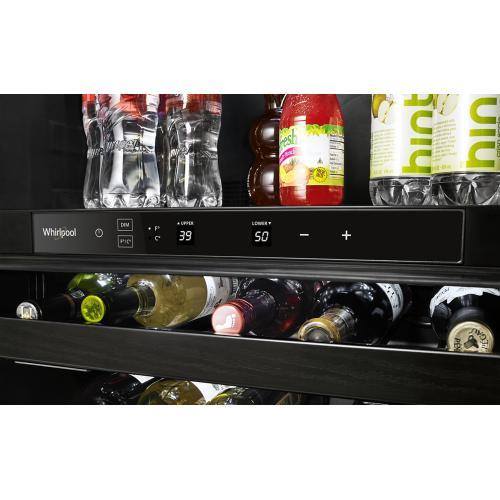 SCRATCH AND DENT 24-inch Wide Undercounter Beverage Center - 5.2 cu. ft.