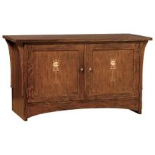 "Oak 50"" Harvey Ellis TV Console"