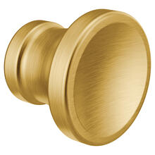 Colinet Brushed gold drawer knob