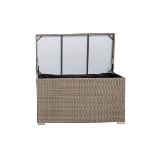 Alfresco Home - Medium Sicuro Wicker Cushion Storage Box w/ hydraulic lid
