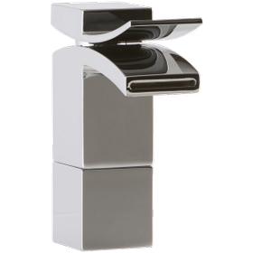Quarto Medium Vessel Lav Faucet Front Flow Chrome