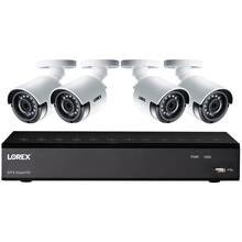 4.0-Megapixel Super HD 4-Channel 4-Camera Security System with Color Night Vision