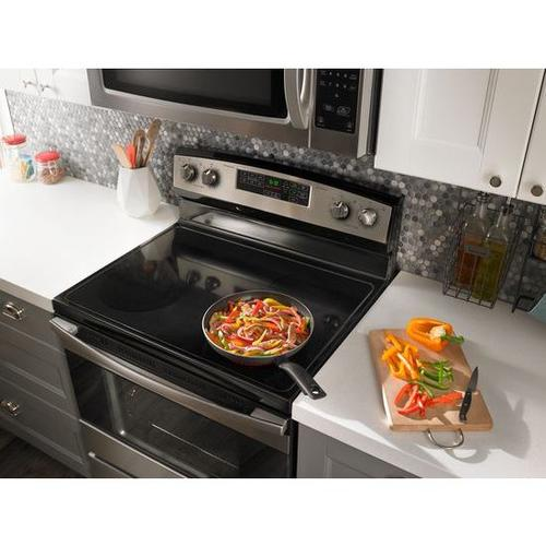 1.6 cu. ft. Amana® Over-the-Range Microwave with Add 0:30 Seconds - BS