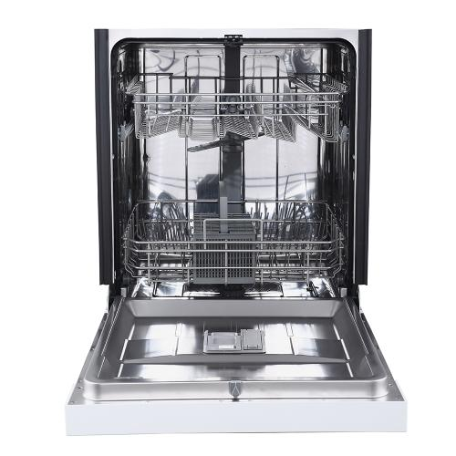 """GE Appliances Canada - GE 24"""" Built-In Front Control Dishwasher with Stainless Steel Tall Tub White - GBF532SGPWW"""