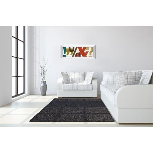 """Classy Art - """"Punctuated Il"""" By Micheal Mullan Mirror Framed Print Wall Art"""