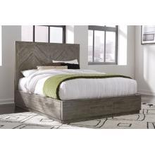Herringbone Queen Storage Bed