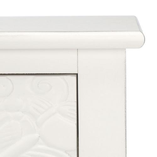 Safavieh - Josie 2 Drawer Console Table - Distressed White