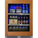 24in Beverage Center Overlay Glass RH