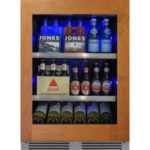 XO APPLIANCE24in Beverage Center Overlay Glass LH