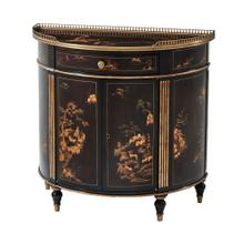 Willow Side Cabinet - Chocolate Chinoiserie