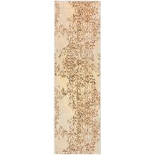 "Cosmopolitan Nirvana Brushed Gold 2' 4""x7' 10"" Runner"