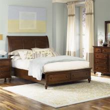 See Details - King Storage Bed, Dresser & Mirror, Chest, NS