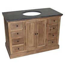 Reclaimed 8-Drawer Vanity