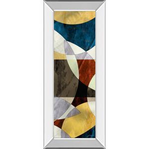 """Elliptic Path II"" By James Burghardt Mirror Framed Print Wall Art"