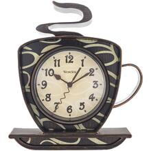 Coffee Time 3-Dimensional Wall Clock