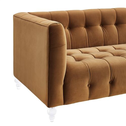 Product Image - Bea Gold Velvet Sofa
