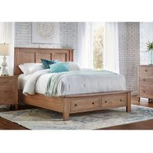 View Product - Franklin Bed - Footboard Storage