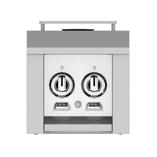 "Hestan - 12"" Hestan Outdoor Double Side Burner - AGB Series - Froth"