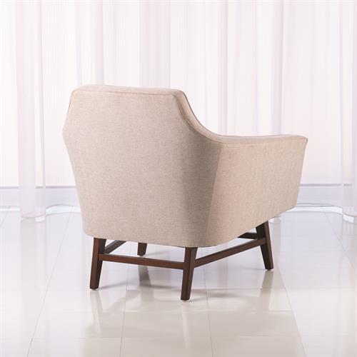 Edward Lounge Chair-Muslin