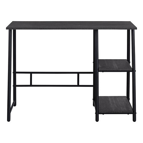 "Frame Works 40"" Desk With Two Storage Shelves"