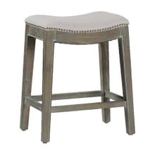 "Vivian 24"" Counter Stool - Burnished Oak"