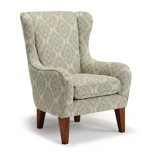 See Details - LORETTE Wing Back Chair