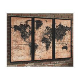 See Details - Pollyanna Wall Art Set (3/CN)