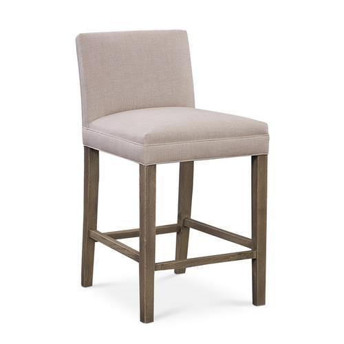 Bassett Furniture - Marge Oak Parsons Counter Stool