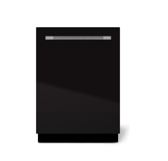 "AGAAga Mercury 24"" Dishwasher, Gloss Black"