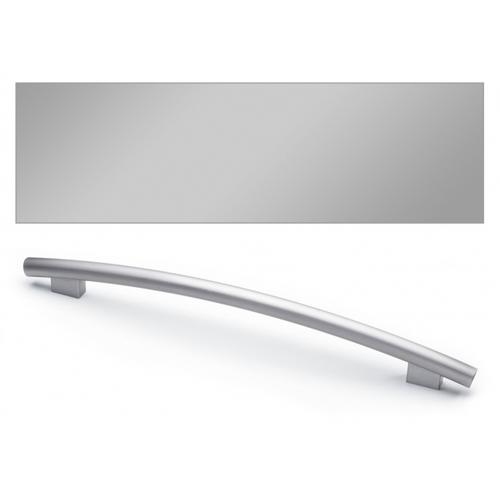 GFVi605/77-1 Door Panel with Profi Handle (Clean Touch Steel)