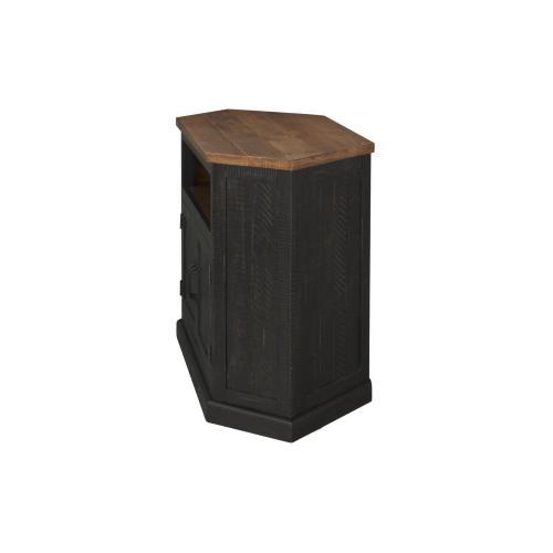 Rustic Corner-Black and Honey - Black