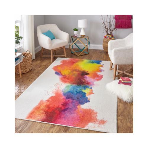 Mohawk - Watercolor, Rainbow- Rectangle