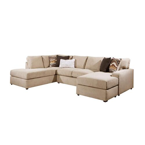 Gallery - 8011 Flamenco Two Piece Sectional with Chaise