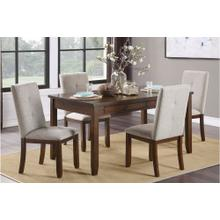 5PC Dining Table and 4 Chairs