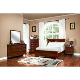 Tamarack Mirror Brown Cherry