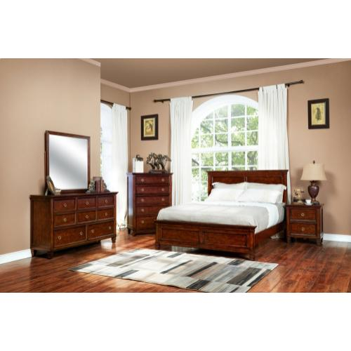 Tamarack Queen Bed Brown Cherry