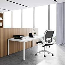 View Product - 1127 WHITE Mesh Ergonomic Foldable Office Chair